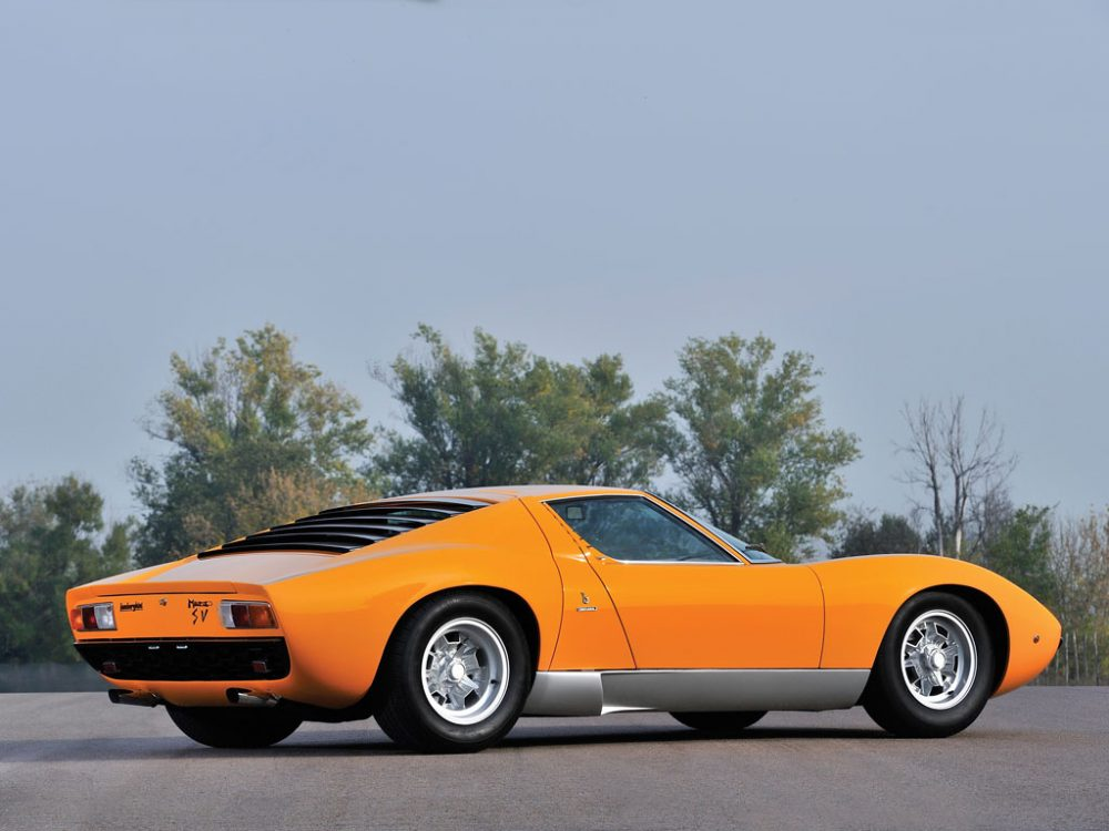 The Closest You Ll Get To Buying A New Lamborghini Miura Petrolicious