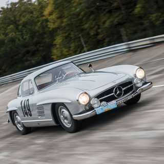For Sale: The Mercedes-Benz 300 SL Gullwing Race Car Of Your Dreams