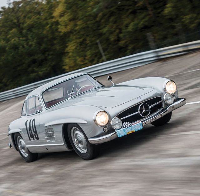 For Sale: The Mercedes-Benz 300 SL Gullwing Race Car Of