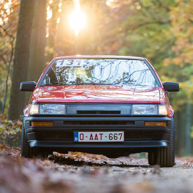 Just Because: A Belgian Toyota AE86 That Lives For The Racetrack