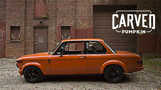 This Bmw 2002 Is A Carved Pumpkin Petrolicious