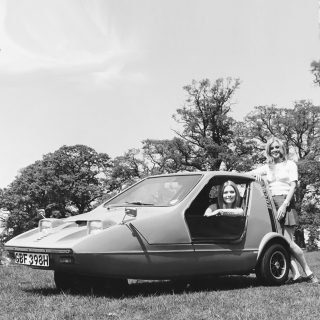 Motorists Looked So Much Happier In Impossibly Tiny Cars