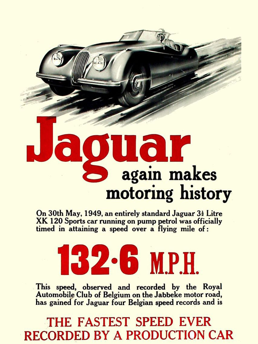 Remember When Car Ads Were All About Speed? • Petrolicious