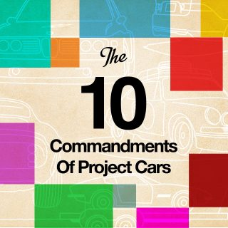 The 10 Commandments of Project Cars