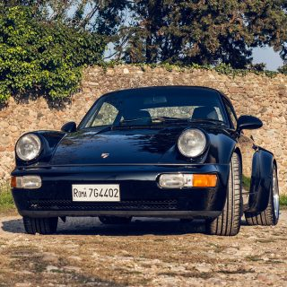 Happiness Is A Porsche 911 3.6 Turbo And Nothing Else In Sight