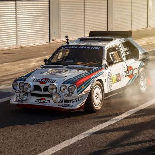 Heaven Is Group B Rally Cars Shredding On Monza's Crazy Banking
