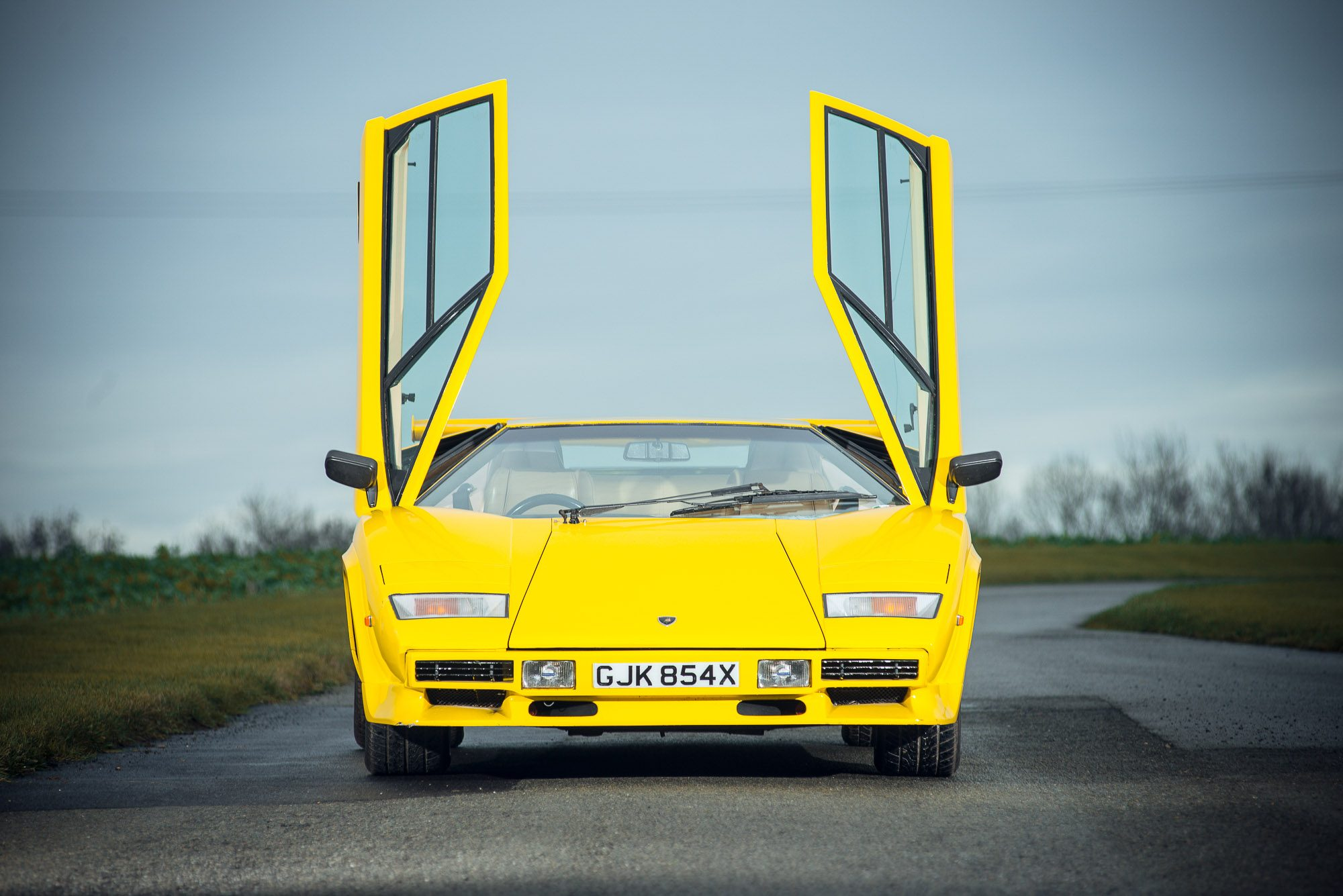 If You Drive On The Right You Should Drive This Lamborghini Countach Petrolicious