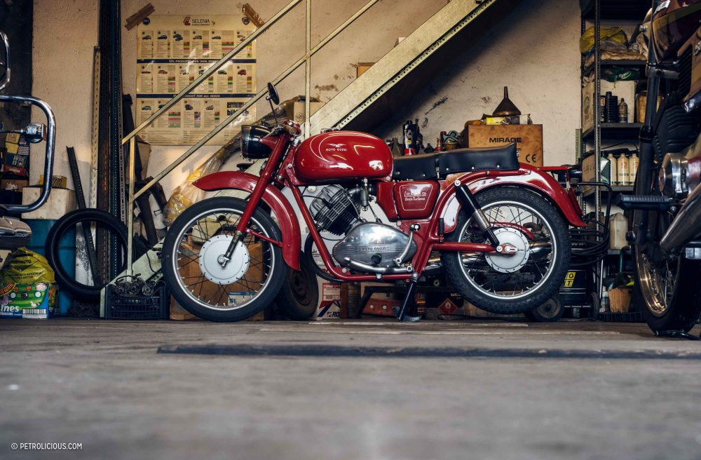 This Typical Italian Motorcycle Garage Is Anything But Petrolicious