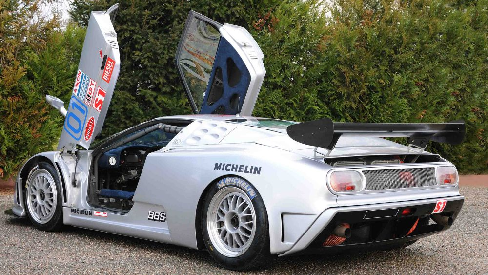 did this one-off bugatti eb110 ss race car ever reach its potential