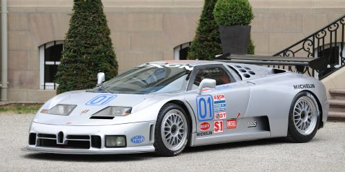 Did This One-Off Bugatti EB110 SS Race Car Ever Reach Its Potential ...
