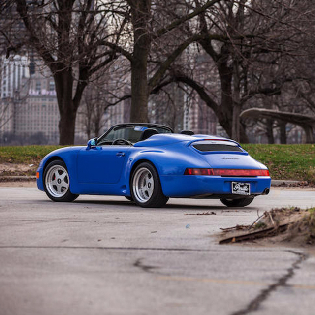 Would You Bid On This Extreme Porsche Speedster From 1993?