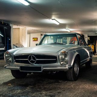 We Visit The Hidden Classic Car Bunker At London's Core