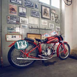 This Moto Guzzi Grillo And Its Garage Are Perfectly Preserved