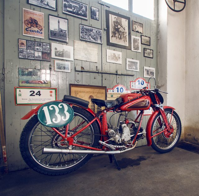 This Moto Guzzi Grillo And Its Garage Are Perfectly