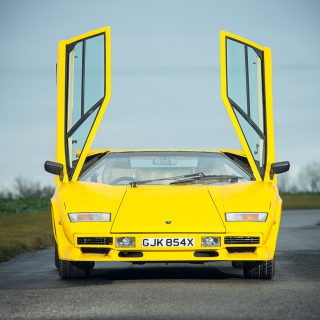 If You Drive On The Right, You Should Drive This Lamborghini Countach