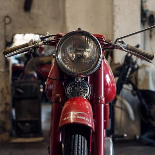 This Typical Italian Motorcycle Garage Is Anything But