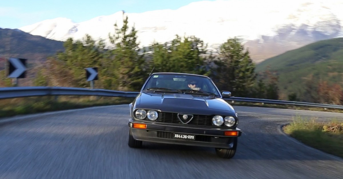 Why The Alfa Romeo Gtv6 Is Pornography For Engineers Petrolicious