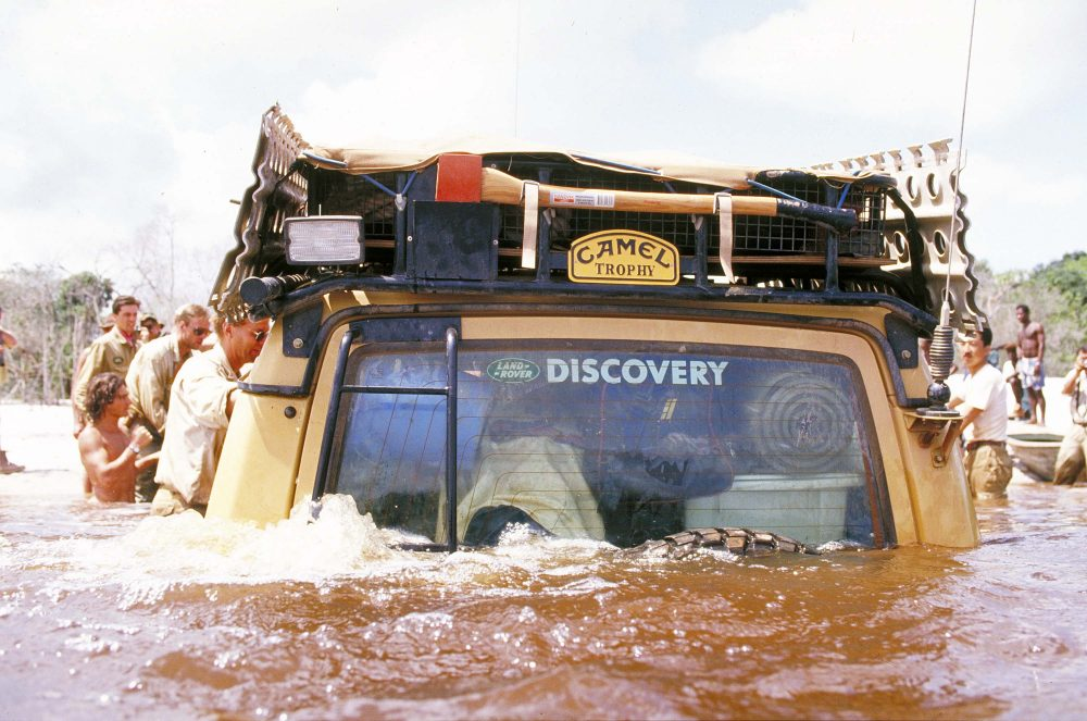 the camel trophy was land rover's tastefully adventurous overland