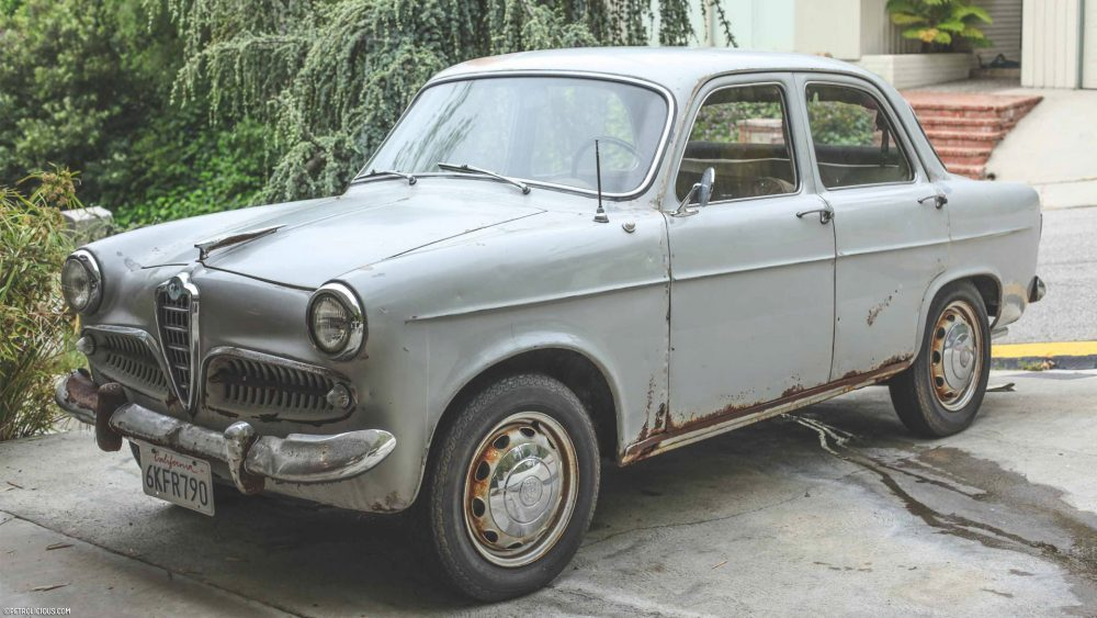 Exceptionnel Was Restoring This 1956 Alfa Romeo Giulietta Berlina Really Worth  EE38