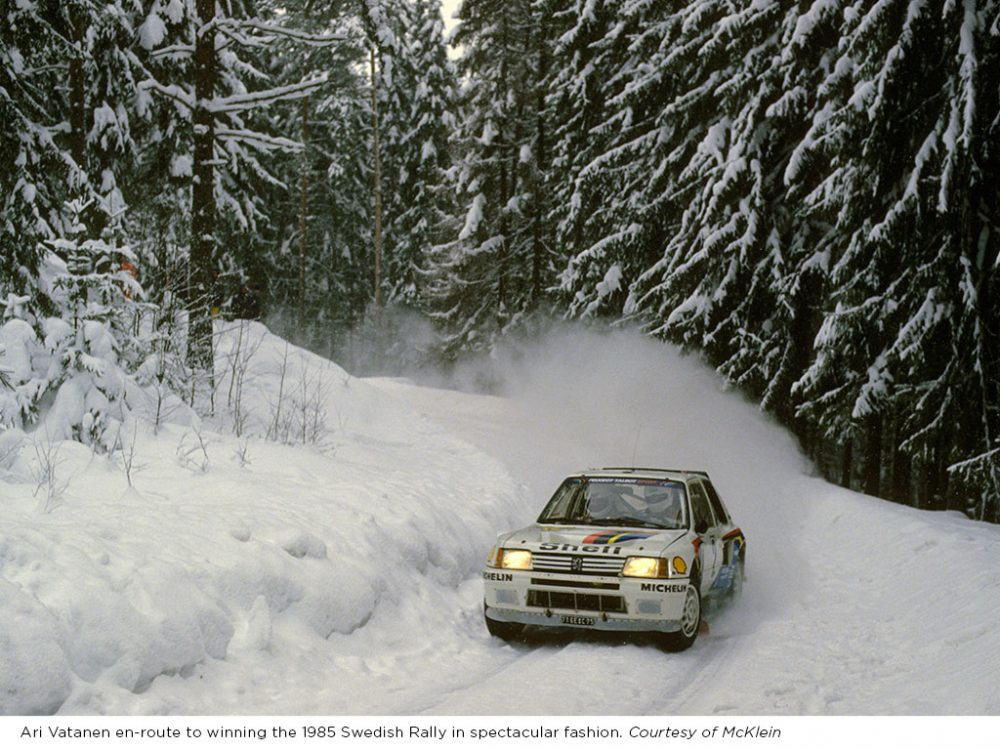 Peugeot\'s Most Legendary Group B Rally Car Is For Sale • Petrolicious