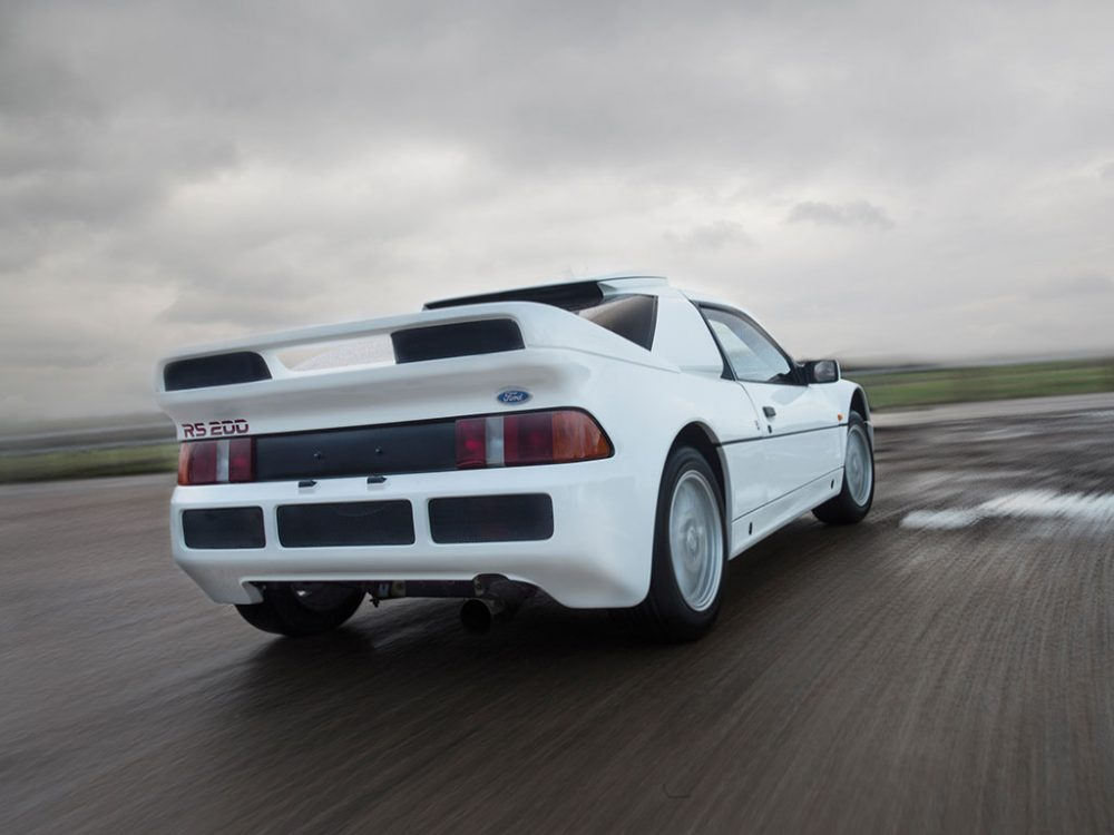 This Ford RS200 Evolution Is Factory Fresh, Fully For Sale ...
