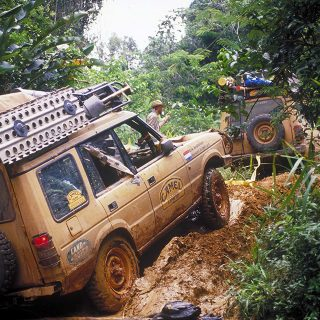 The Camel Trophy Was Land Rover's Tastefully Adventurous Overland Challenge
