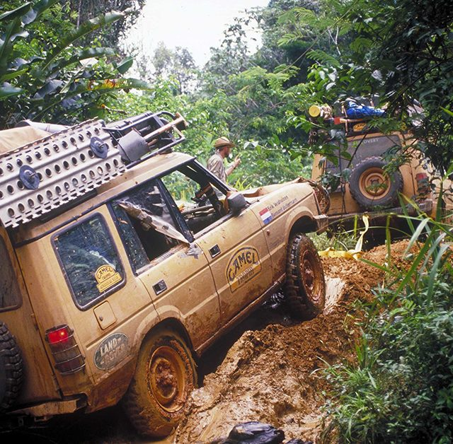 The Camel Trophy Was Land Rover S Tastefully Adventurous