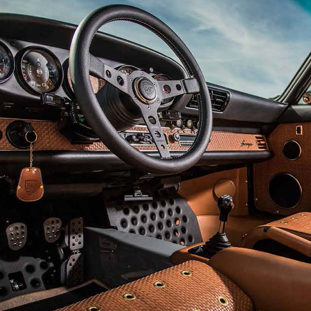 Here's How A 911 Restored By Singer Is Re-Imagined Down To The Last Detail