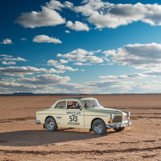 This Family Volvo Is Now Hauling Across South African Desert