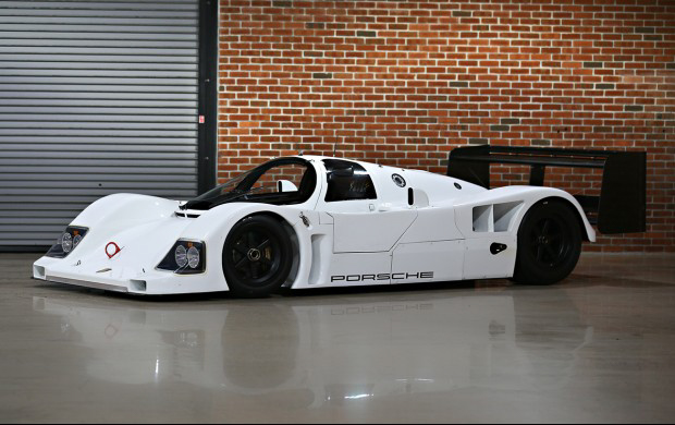 This All White Porsche 962c Could Be The Prettiest Racing