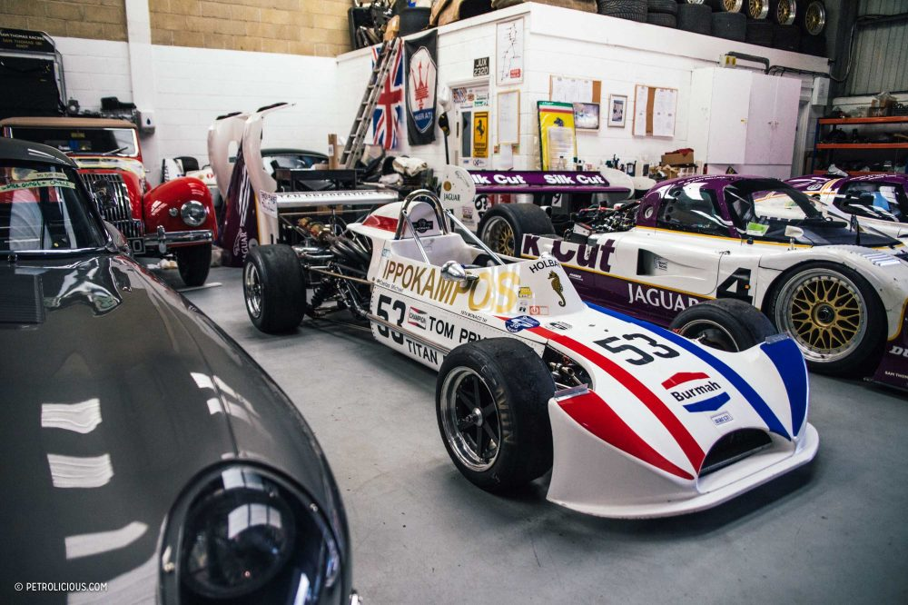 This Is Where Iconic Race Cars Spend Their Winter Break Petrolicious