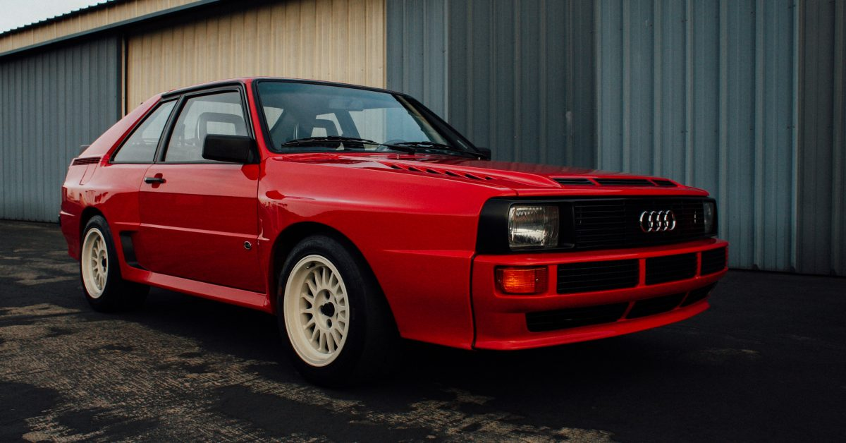 This Is What Life Is Like With An Audi Sport Quattro In The US - Audi quattro