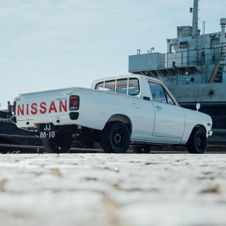 This Datsun Proves The Coolest Vintage Trucks Are Ones That Were Raced​