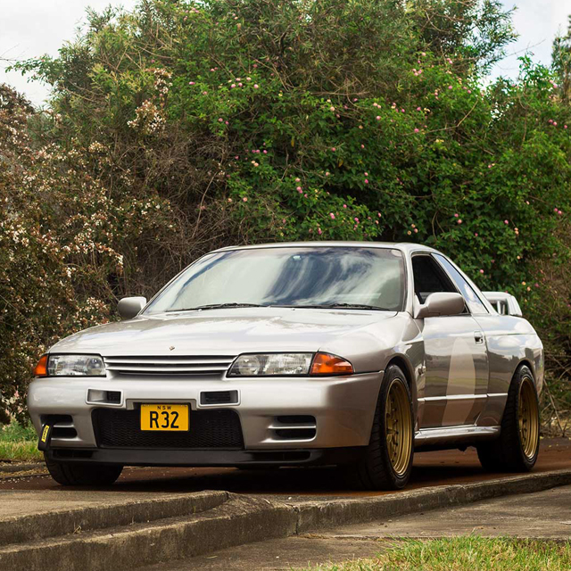 This Nissan Skyline R32 GT-R Begs To Be Driven Hard