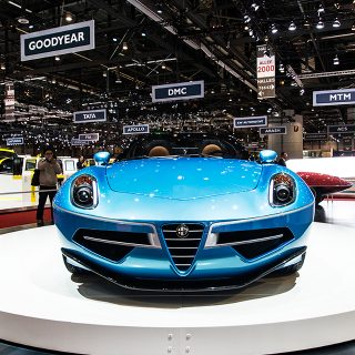 Carrozzeria Touring's Latest Alfa Romeo Is Pretty Beyond Belief