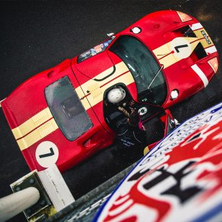 Here's How You Test A Monstrous Ford GT40 Before It Races At Goodwood