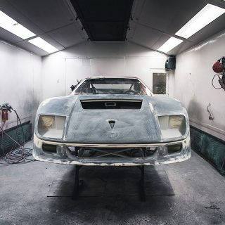 Rebuilding A Ferrari F40 LM Is An Exercise In Artistry