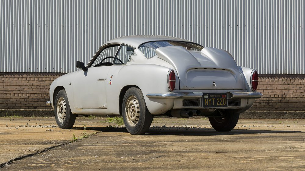 This Zagato-Bod Abarth Is, Incredibly, Unrestored And Original ...