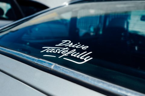 Drive Tastefully Vinyl Decals Are Now In The Petrolicious Shop Petrolicious