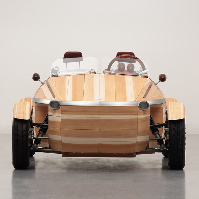 I Would Move To Japan To Grow Old With This Wooden Car