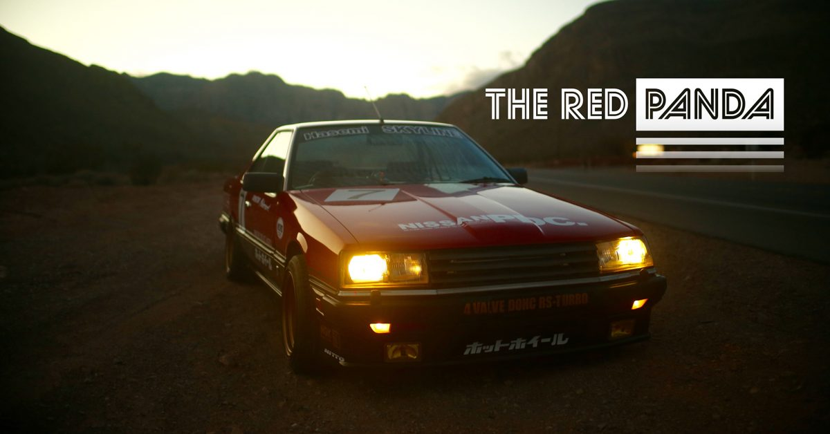 This Nissan Skyline DR30 Is A Red Panda • Petrolicious