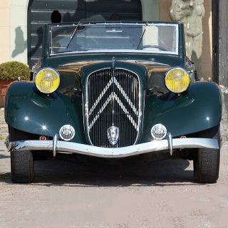 This Art Deco Citroën Roadster Is More Special Than It Looks
