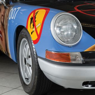 This 1965 Porsche 911 Has A Racy Paintjob From Peter Klasen
