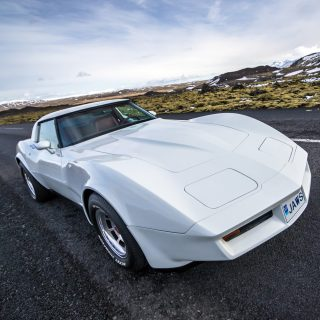 This Corvette Is Strangely, Perfectly At Home In Iceland