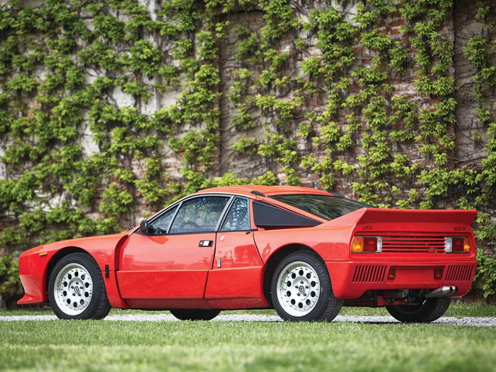 this lancia rally 037 stradale is just waiting for your license