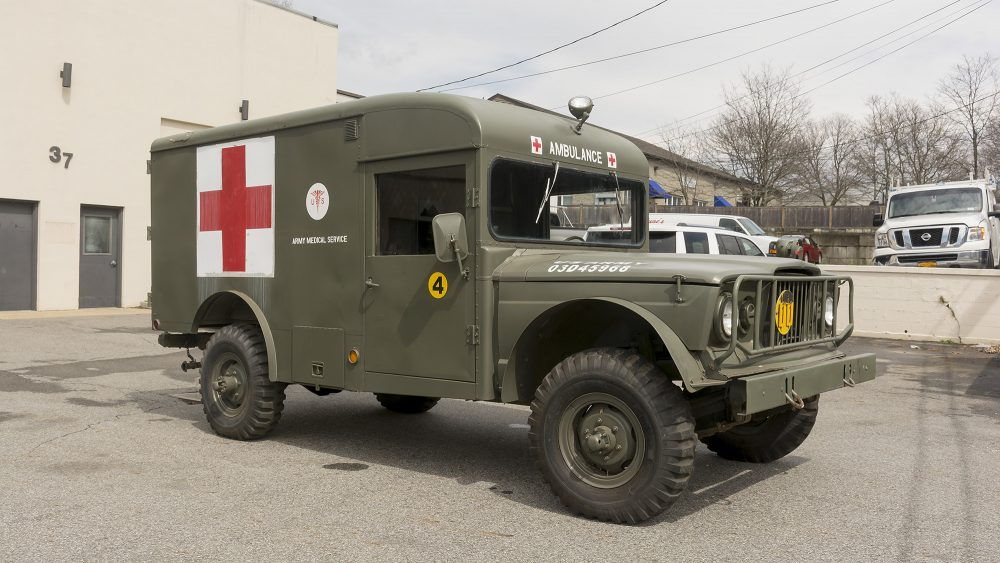 Are You Brave Enough To Drive This Classic Off-Road Ambulance ...