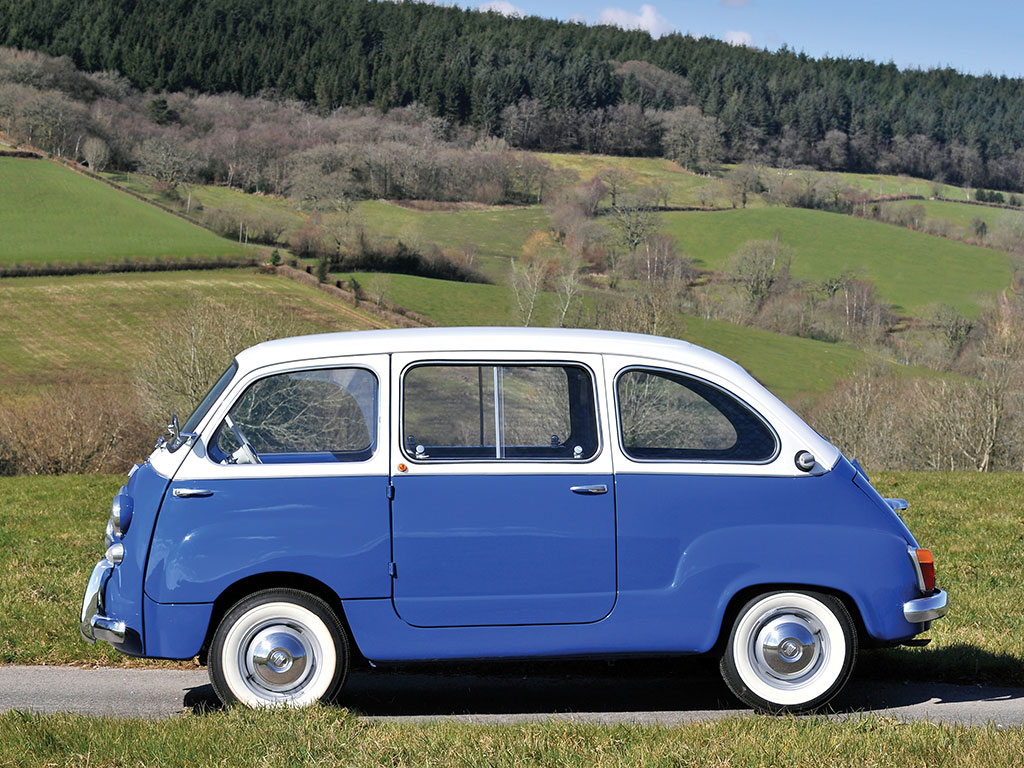 would you ever add a fiat 600 multipla microcar to your garage petrolicious. Black Bedroom Furniture Sets. Home Design Ideas