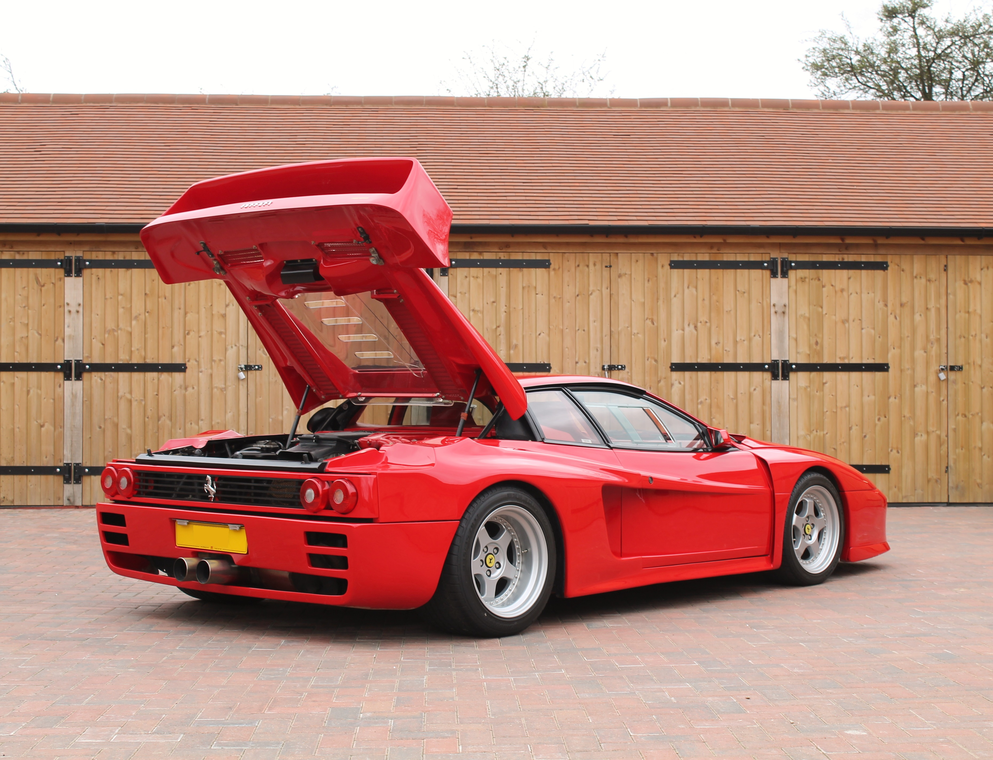 the most extreme 80s supercar must be a ferrari tuned by. Black Bedroom Furniture Sets. Home Design Ideas