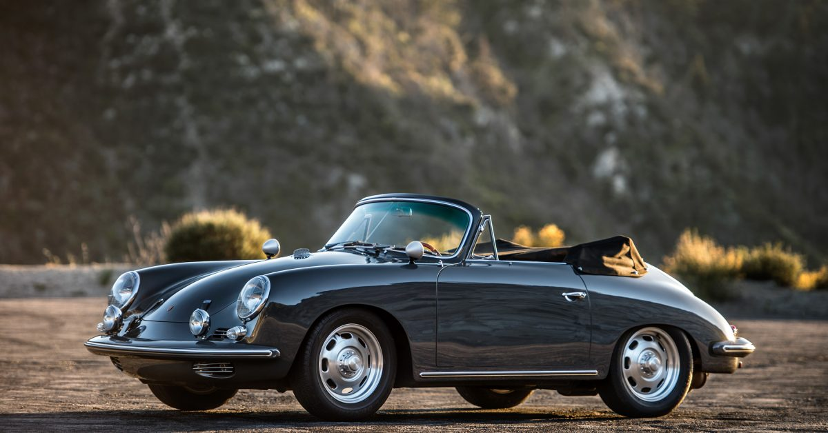 This Porsche 356 Used To Be A Theatre Prop On Set Of 'Grease'