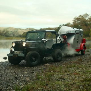 We Set Up Camp To Capture This '50s Willys Jeep Time Machine